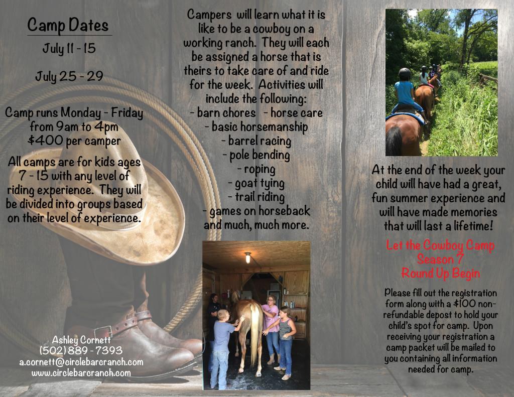 Cowboy Camp brochure2016